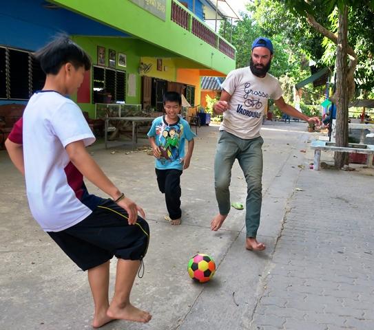 foot en Thaïlande